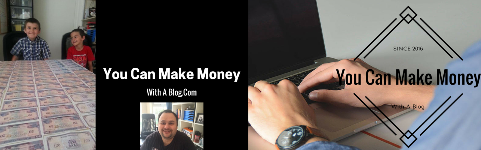You Can Make Money With A Blog Big Banner